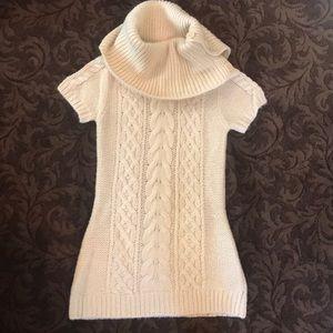 BCBG Turtle Neck Shirt Sleeve Sweater